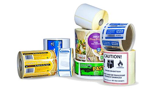 Plain or Printed Labels