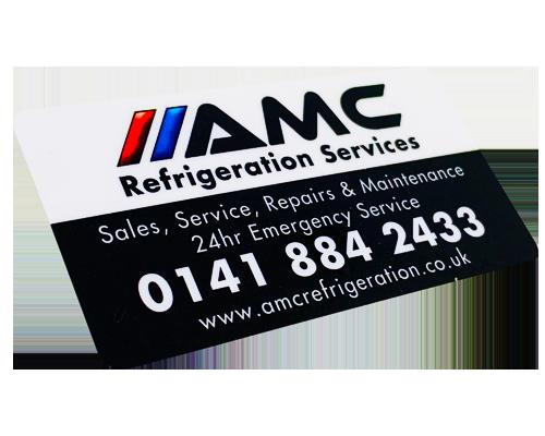 AMC Air Conditioning Label